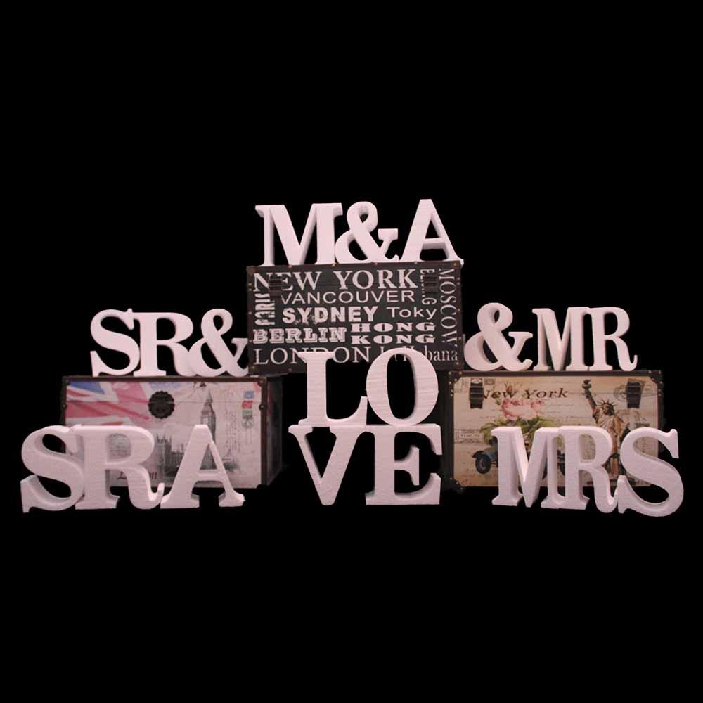 Iniciales porexpan-letras gigantes porexpan-letras para bodas- iniciales gigantes bodas-letras porexpan bodas-tazas personalizadas-chapas personalizadas