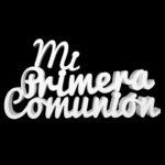 Letras corcho comunion