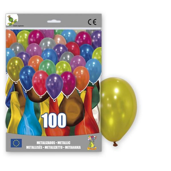 Festivat-100 globos metalizados-globos metalizados-globos brillantes