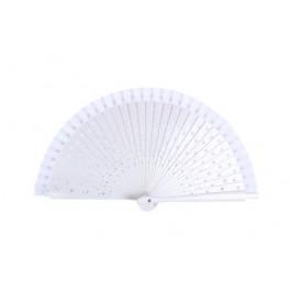 Abanico blanco corazones-abanico blanco-abanicos invitados-abanicos para bodas-abanico blanco boda-tazas personalizadas-letras love