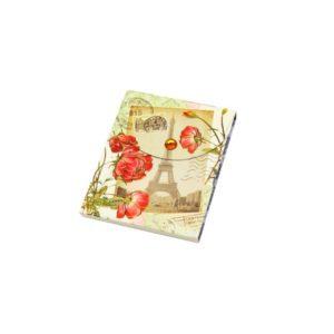 Festivat-bloc notas floral-regalo bloc floral-bloc notas francia