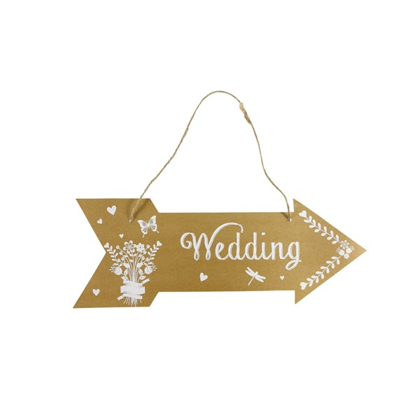 Festivat-cartel flecha weeding-cartel flecha boda-carteles flechas boda