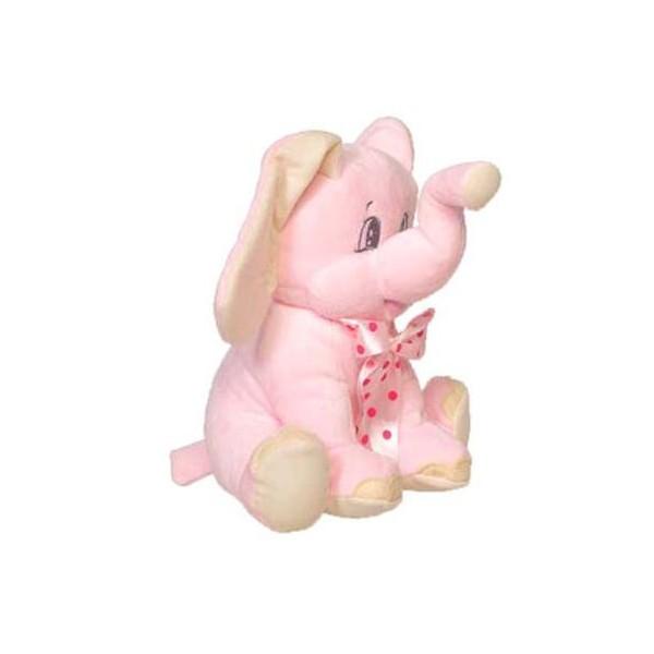 Festivat-elefante peluche lazo rosa-elefante peluche bautizo-peluche bautizo-comprar detalles para bautizo-comprar detalles para regalo