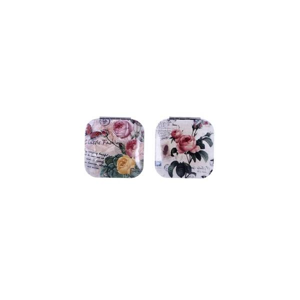 Festivat-espejo aluminio flores-decoracion para bodas low cost