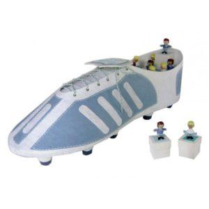 Festivat-expositor bota futbolista-cesta de comunion-idea regalo comunion-idea para regalar en comunion-regalos para la primera comunion