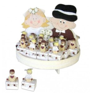 Festivat-expositor just married cajas-cajitas para regalos invitados