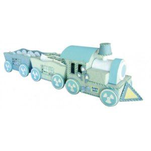Festivat-expositor tren baby azul-regalos comunion baratos