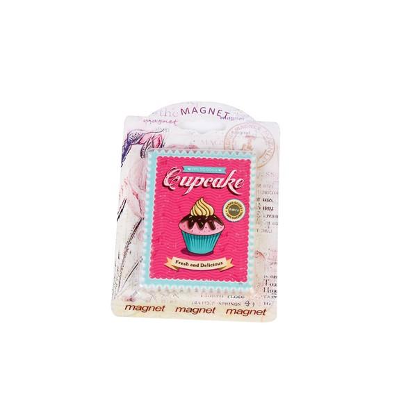 Festivat-iman retro cupcake-iman vintage regalo-iman regalo vintage
