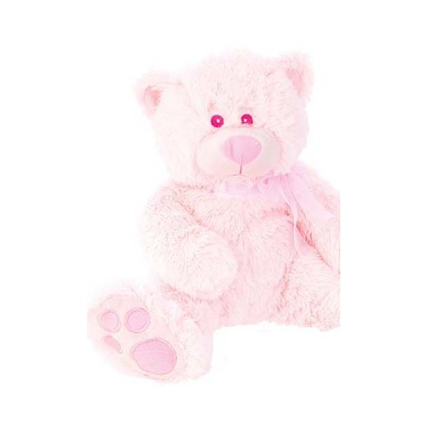 Festivat-peluche osito baby rosa-ositos de peluche para bebes-peluches para primera comunion-peluche osito barato