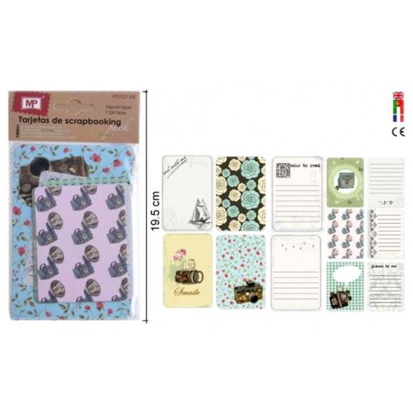 Festivat-set 6 tarjetas retro-tarjetas y etiguetas boda-tarjetas para regalos-tarjetas y etiquetas para regalos-etiquetas boda
