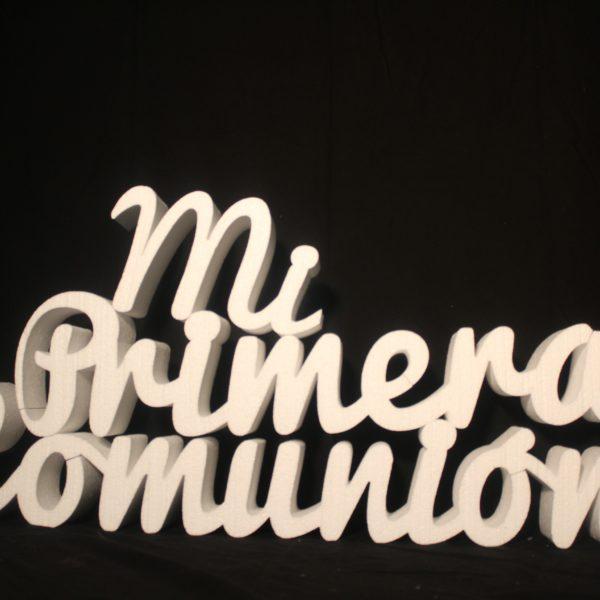 Letras comunion porexpan-Letras gigantes comunion- letras porexpan comunion-letras comunion gigantes-letras gigantes para comunion